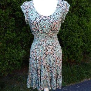 American Rag Dress Cinch Waist SunDress - Medium